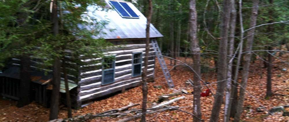 Solar panel for power at the cottage